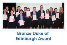 Bronze Duke of Edinburgh Award
