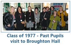 Class of 1977 - Past Pupils visit to Broughton Hall