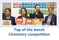 Top of the bench Chemistry competition